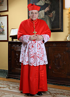 His Eminence, Raymond Leo Cardinal Burke, D.D., J.C.D., Archbishop Emeritus of Saint Louis, Prefect of the Supreme Tibunal of the Apostolic Signatura