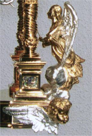 A Millenium Monstrance Angel
